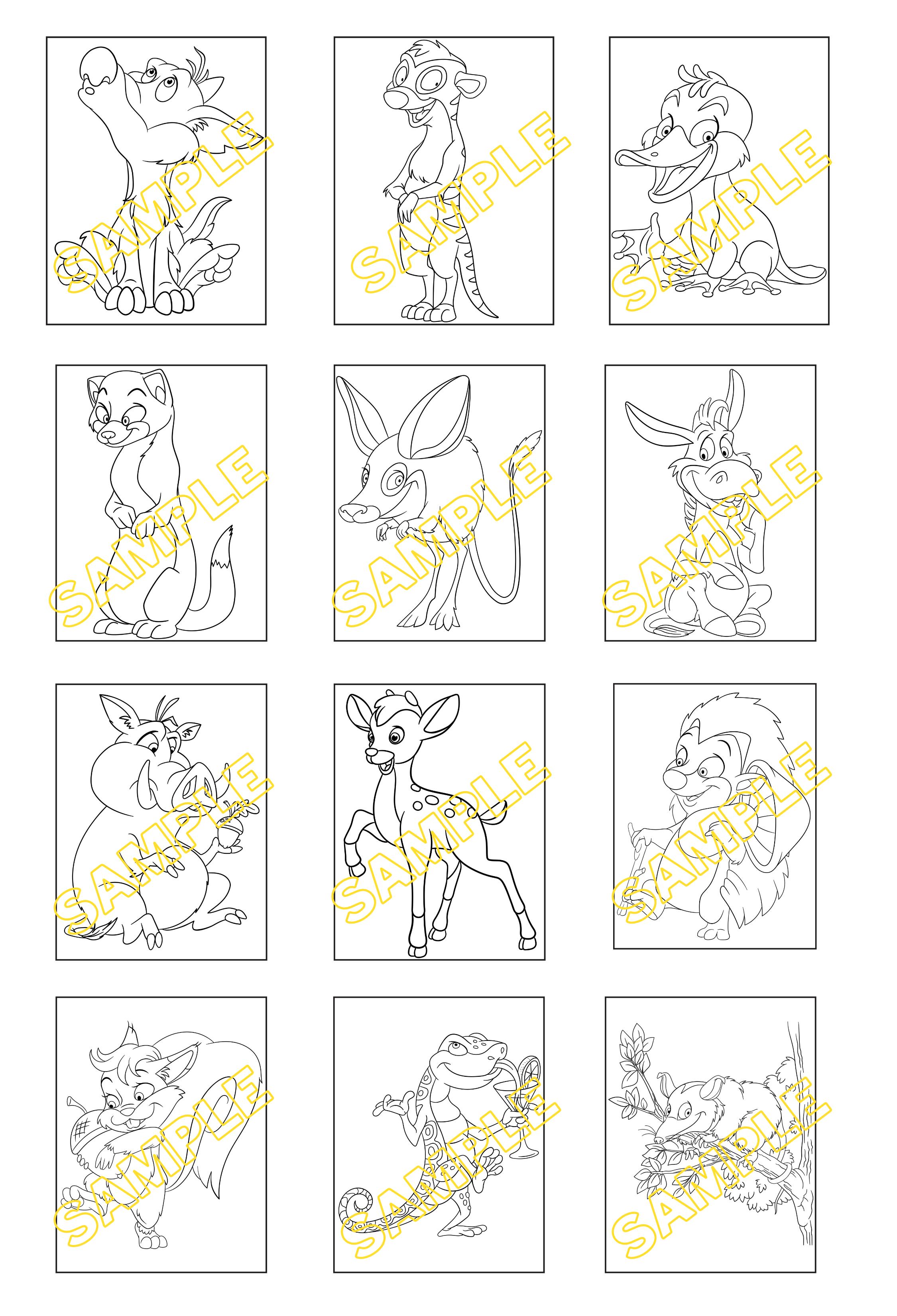 Coloring Hub Sample